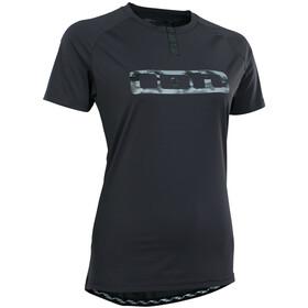 ION Traze Button T-shirt Dames, zwart